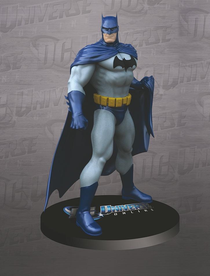 DC UNIVERSE ONLINE STATUE: BATMAN Attachment